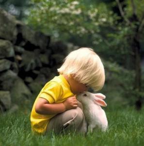 Child bunny